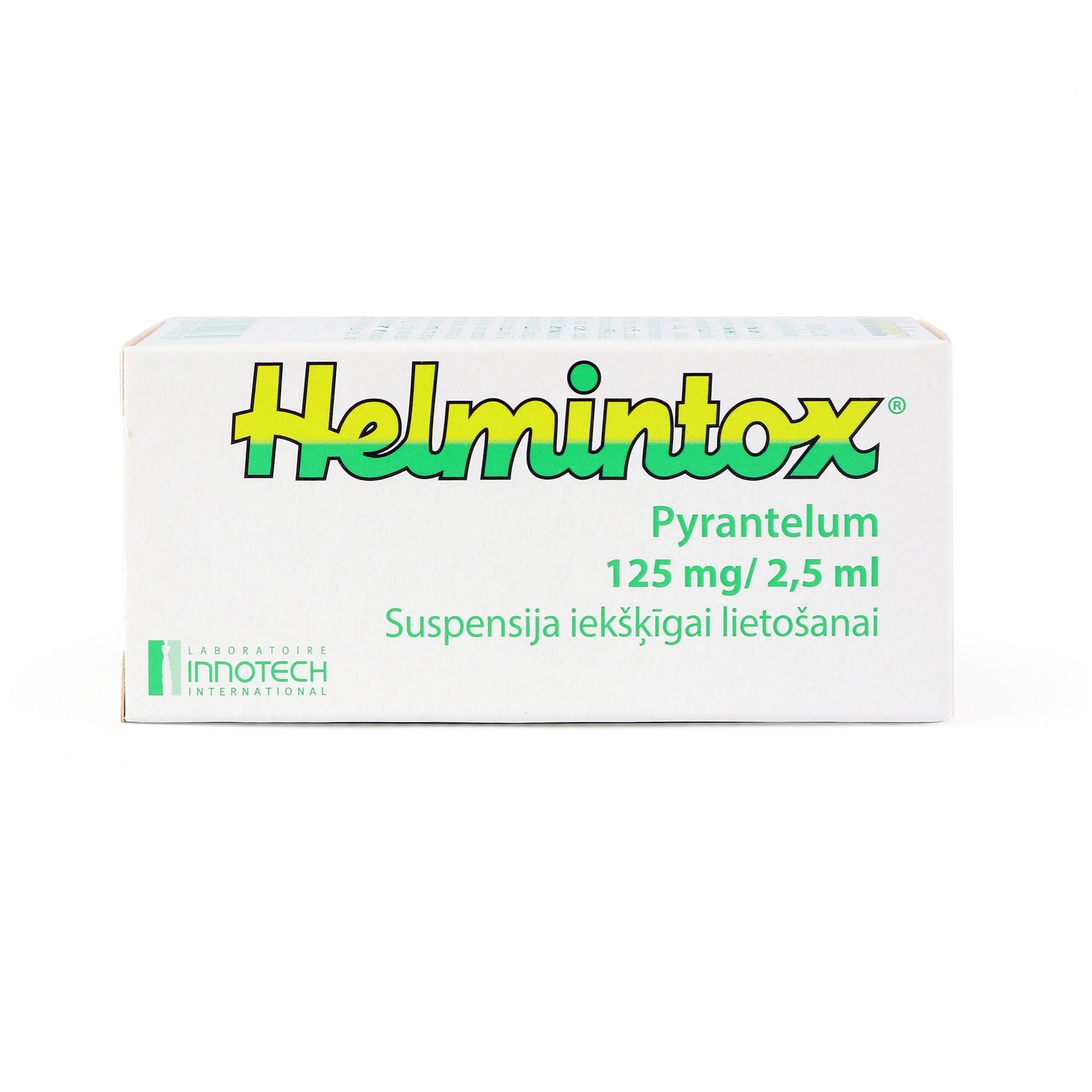 helmintox atsauksmes)
